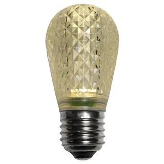Wintergreen Lighting 43499 T50 Warm White LED Christmas Light Bulbs - Pack of 25