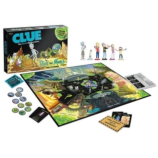 CLUE : Rick and Morty