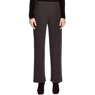 Eileen Fisher Womens Lounge Pants Heathered Elastic Waist