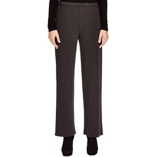 Eileen Fisher Womens Lounge Pants Heathered Elastic Waist