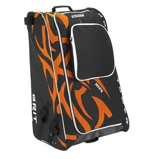 """Grit Inc HTFX Hockey Tower 36"""" Wheeled Equipment Bag Orange HTFX036-PH (Philly)