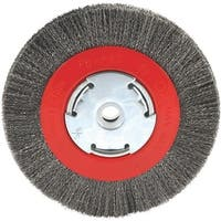 """Forney 6"""" Crimped Bench Wheel"""