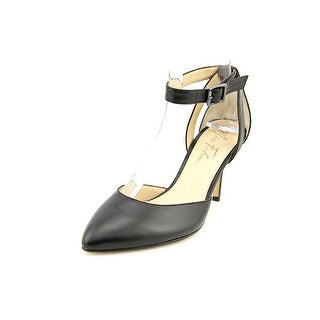 Marc Fisher Hien Pointed Toe Leather Heels