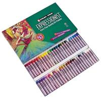 Sakura Cray-Pas Expressionist Extra Fine Non-Toxic Oil Pastel, 7/16 X 2-3/16 in, Assorted Color, Pack of 50