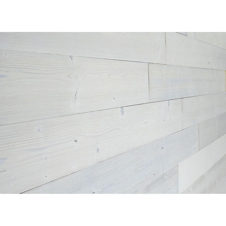 Beachwood White Self Adhesive All Wood Planks 46 1 2 X 5 1 8 X 3 16 Overstock 32224650