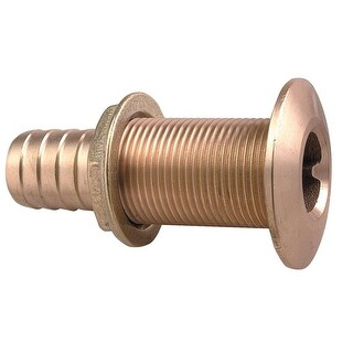 "Perko 1"" Thru-Hull Fitting F/ Hose Bronze - 0350006DPP"