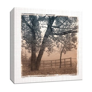 "PTM Images 9-147045  PTM Canvas Collection 12"" x 12"" - ""Foggy Light I"" Giclee Rural Art Print on Canvas"