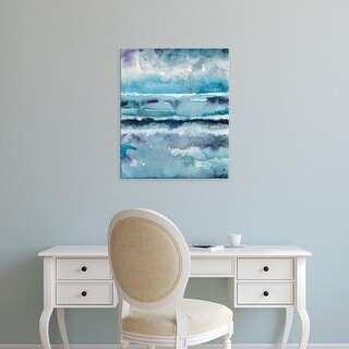 Easy Art Prints Chariklia Zarris's 'Blue Tide II' Premium Canvas Art