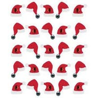 Santa Hat Repeats - Jolee's Christmas Stickers