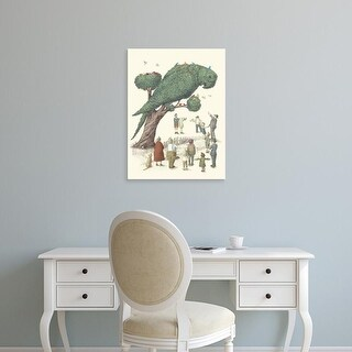 Easy Art Prints Terry Fan's 'Parrot Tree' Premium Canvas Art
