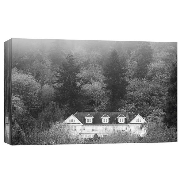"""PTM Images 9-101746 PTM Canvas Collection 8"""" x 10"""" - """"Rutherglen Mansion"""" Giclee Forests Art Print on Canvas"""