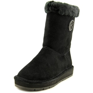 Michael Michael Kors Winter Mid Boot   Round Toe Suede  Winter Boot
