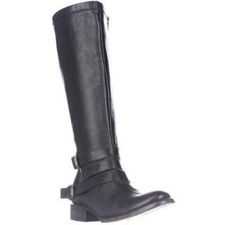 Freebird by Steven Madden Irish Riding Strapped Boots, Black