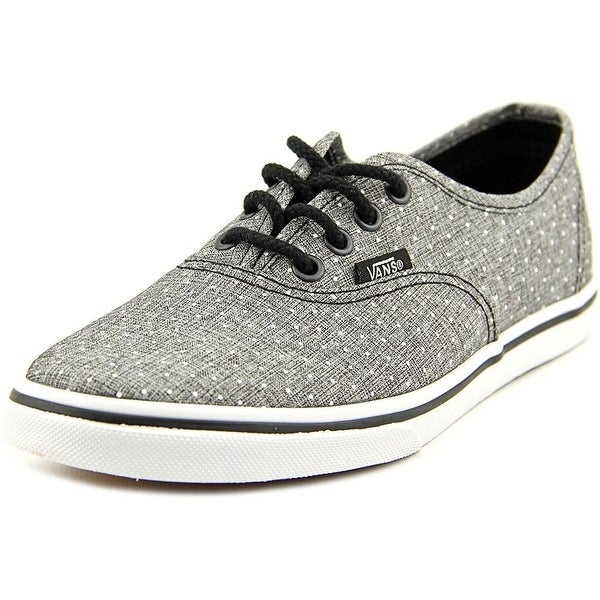 Vans Girls Authentic Lo Pro Canvas Low Top Lace Up Skateboarding Shoes ddf6bf72a7