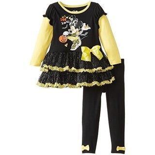 Disney Minnie Mouse Toddler Halloween Pant Outfit - 2T