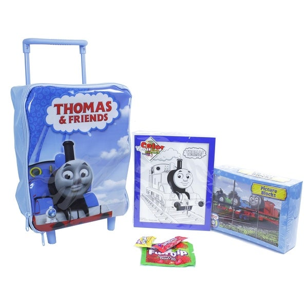 Thomas the Tank Rolling Backpack Travel Set - Free Shipping On ...