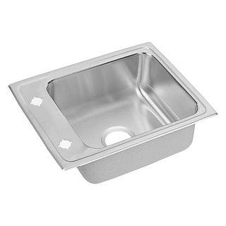 "Elkay DRKR2217 22"" Single Basin Drop In Stainless Steel Utility Sink"