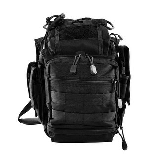 VISM® by NcSTAR® PVC First Responders Utility Bag - Black