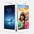 Indigi® V19 Factory Unlocked 3G GSM+CDMA 5.5inch HD Android 4.4 KitKat Dual-Core Dual-Sim Smartphone (White) - Silver/White - Thumbnail 0