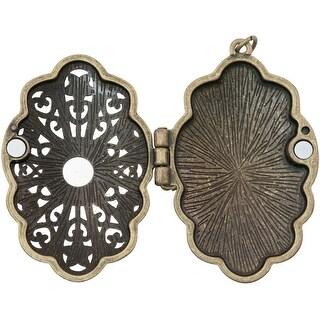 Tim Holtz Assemblage Locket -Jeweled Baroque