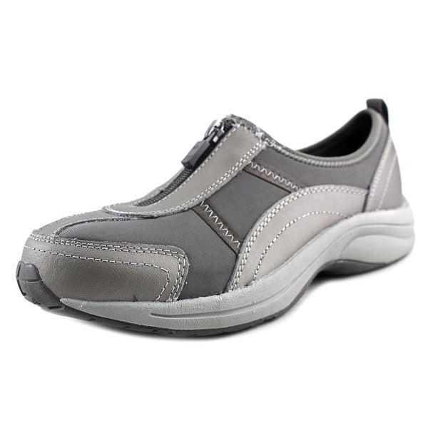 c4bf96d529 Shop Easy Spirit Walk 4 Zip Round Toe Leather Walking Shoe - Free ...