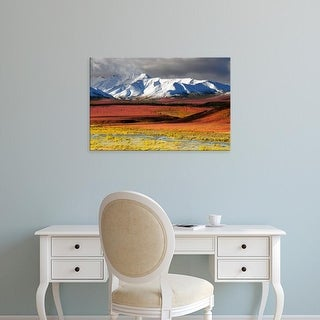 Easy Art Prints Michel Hersen's 'Alaska Range' Premium Canvas Art