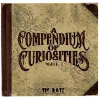 Advantus Tim Holtz Idea-Ology Book-A Compendium Of Curiosities Vol 3
