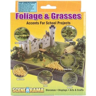 Diorama Kit-Foliage & Grasses