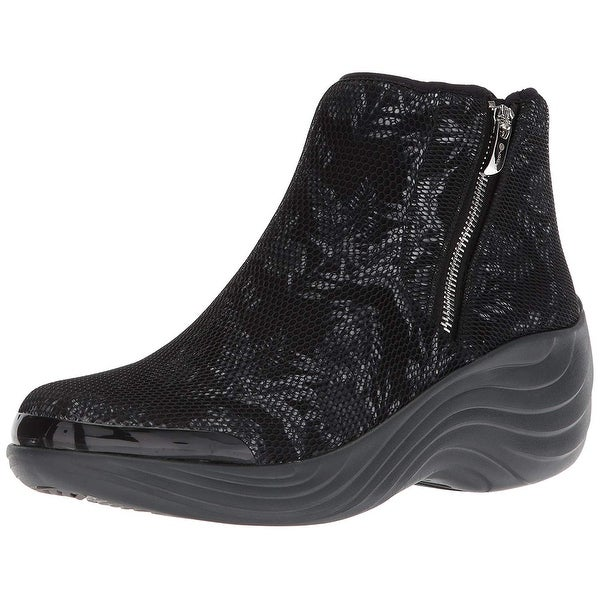BZees Womens Zora Closed Toe Ankle Fashion Boots