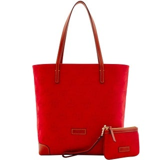 Dooney & Bourke Crest Everyday Tote with Wristlet (Introduced by Dooney & Bourke at $248 in Dec 2016) - Red