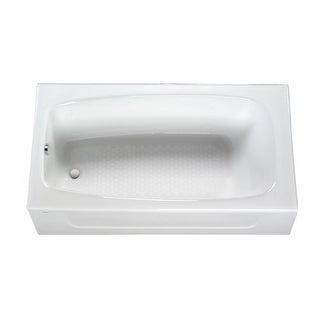 "Toto FBY1525LP 59-3/4"" Enameled Cast Iron Soaking Bathtub Drop In Installation with Left Drain and Apron Front"