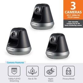 3-pack of SNH-V6410PN - Samsung 1080p Full HD Wi-Fi Pan & Tilt IP Camera