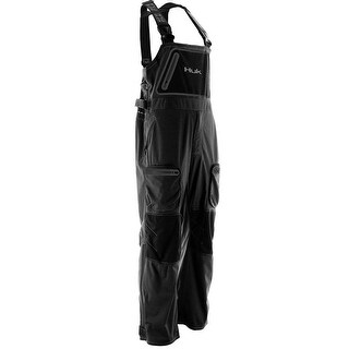 Huk Men's Next Level Kryptek All Weather Black X-Large Bib