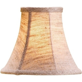 Currey and Company 0331 Natural Linen Shade, Large, Measuring 3 x 6 x 5