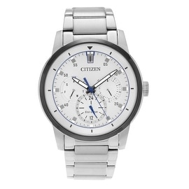 Citizen Men's 'Eco-Drive' BU2018-55A Stainless Steel Link Bracelet Watch