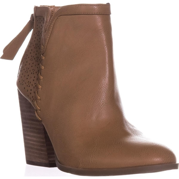 Tommy Hilfiger Lyra2 Ankle Booties, Natural Multi - 9 us