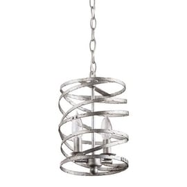 "Miseno MLIT155181RT Annata 2-Light Mini Pendant with 72"" Adjustable Chain"