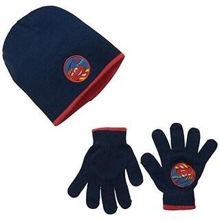 Disney Boys Printed 2PC Hat & Glove Set - o/s