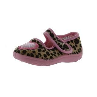Ragg Girls Lola Leopard Slippers - 6 m us toddler