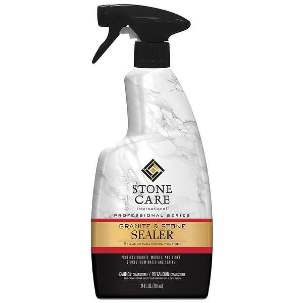 Weiman 5187 Stone Care International Granite & Stone Sealer Spray, Quart