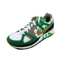 Nike Women's Air Stab White/Metallic Gold-Lucky Green St Patrick's 316938-171 Size 9