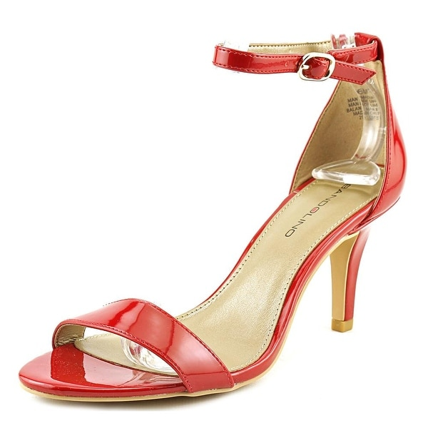 Bandolino Madia Open-Toe Leather Heels