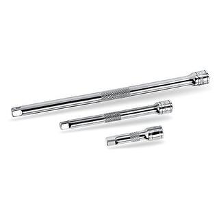 "Powerbuilt 3 Piece 1/2"" Drive Extension Bar Set Chrome Vanadium - 640846"