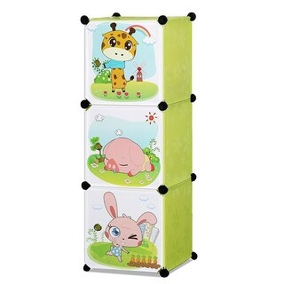Whimsical Childrens 3 Level Collapsible Multipurpose Animal Themed