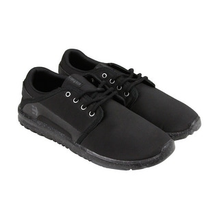 Etnies Scout Mens Black Synthetic Lace Up Sneakers Shoes