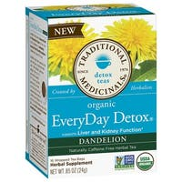 Traditional Medicinals Organic Tea Everyday Detox Dandelion 16 tea bags
