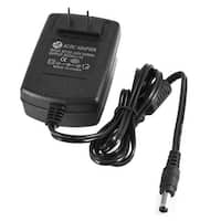 Unique Bargains US Plug AC 100-240V 5.5x2.5mm DC 12V 1A DVD CCTV Camera Power Adapter Cord 110cm