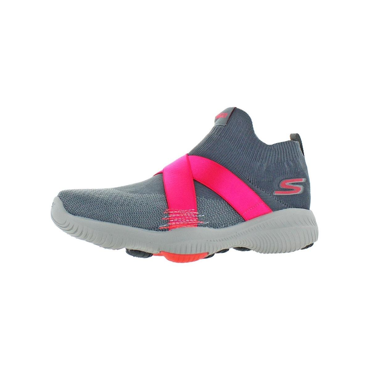 Skechers Womens GOwalk Revolution Ultra Bolt Walking Shoes Athletic Lifestyle