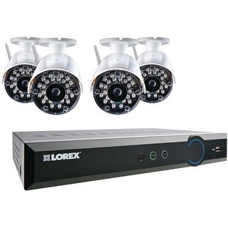Lorex Wireless 8-Channel Stratus DVR with 4 Cameras - White