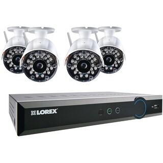 Lorex Wireless 8-Channel Stratus DVR with 4 Cameras - White